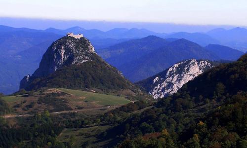 Chateau de Montsegur et Chateau de Puivert
